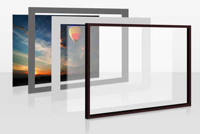 ترکیب آینه و عکس