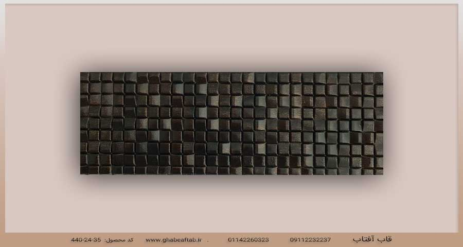 نمونه پروفیل قاب عکس pvc کد ۴۴۰-۲۴-۳۵